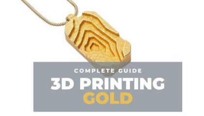 Can You 3D Print Gold? The Complete Guide to Gold & Gold Filament 3D Printing