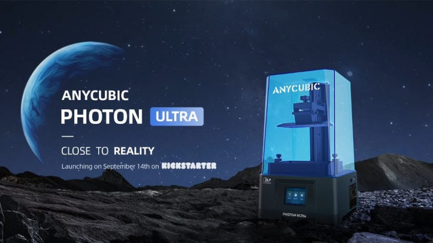 anycubic photon ultra launches on kickstarter