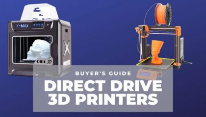 Top 5 Best Direct Drive 3D Printers For All Uses – Ranked