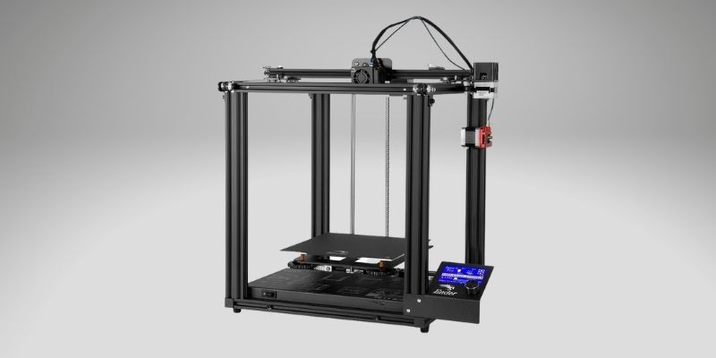 creality ender 5 best 3d printer for cosplay props and helmets