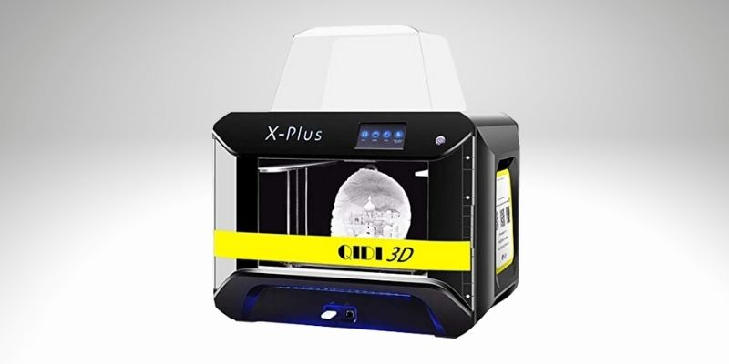 qidi tech x-plus, a great 3d printer with a direct drive extruder