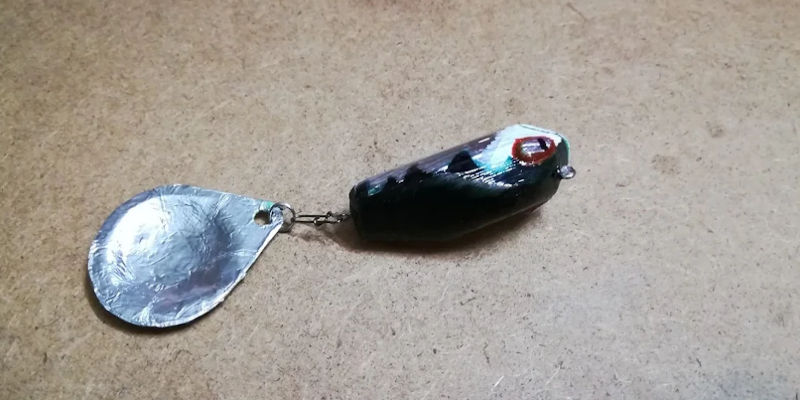 3D Printed Fishing Lure Spinner