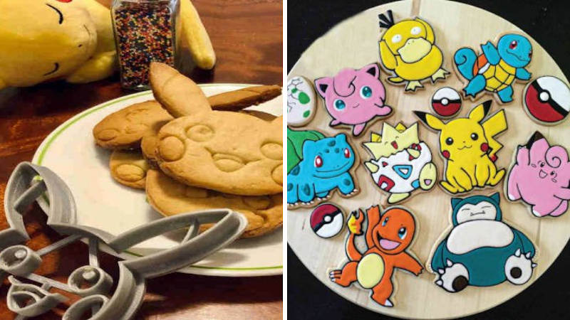 3d printed cookie cutters for pokemon