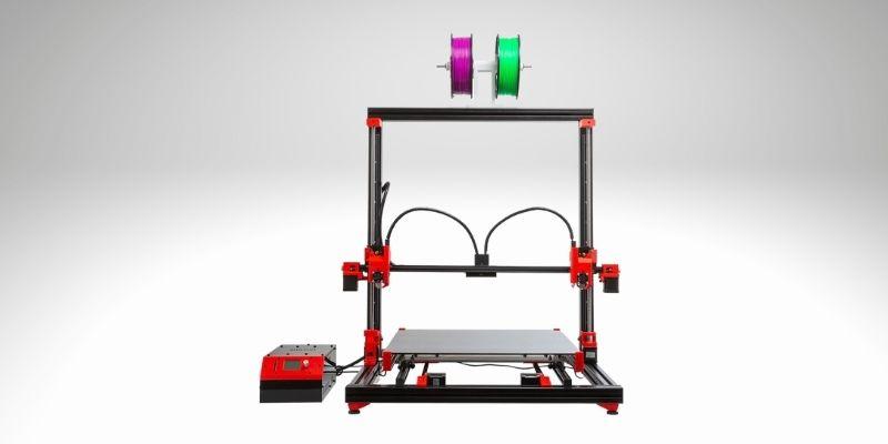 multoo mt2x 3d printer 500x500x500mm build volume