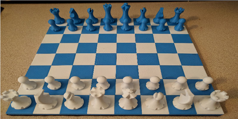 Roll-up chess set 2