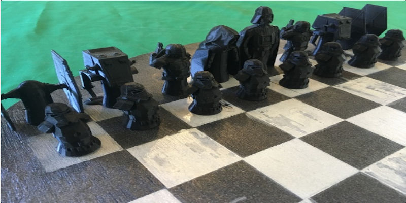 Star Wars Chess Pieces 1