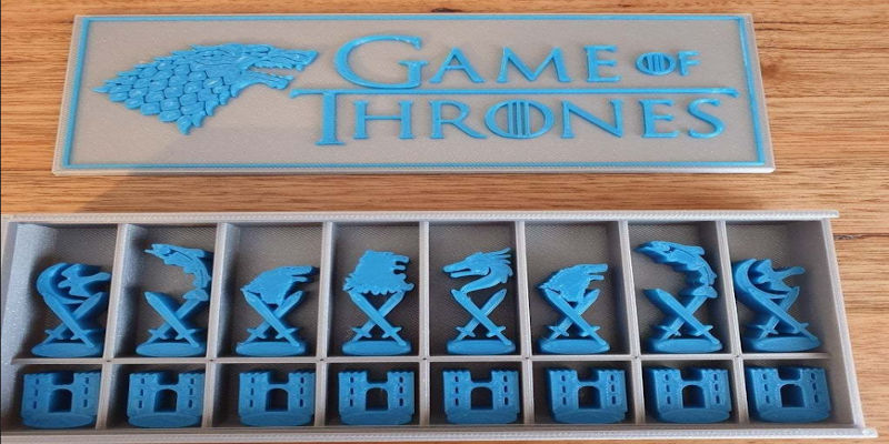 GoT Game of Thrones Chess Pieces 3D Print