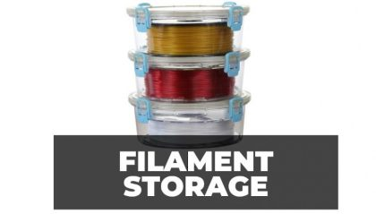 3D Printer Filament Storage – Keep your Filaments in Top Condition for Longer