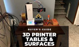 3d printer table desk surface stand