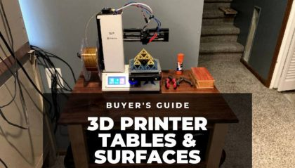 The Best Tables for 3D Printers 2021 – What to Look For